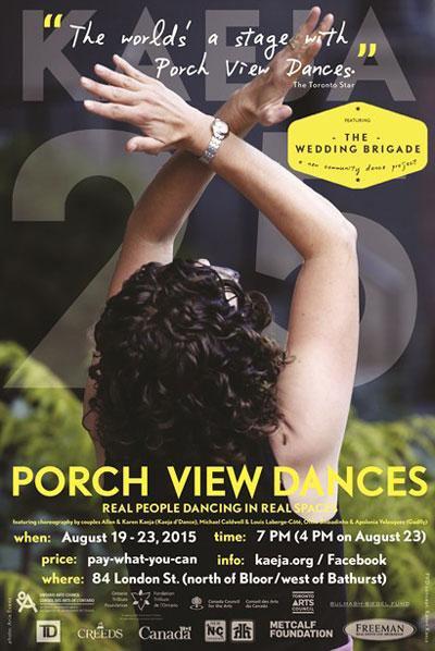 Porch View Dances 2015
